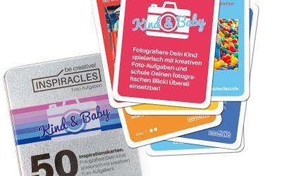 Inspiracles Kind- und Babyfotografie Edition Lernkarten