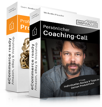 Professionelle Produktfotografie plus Coaching Call