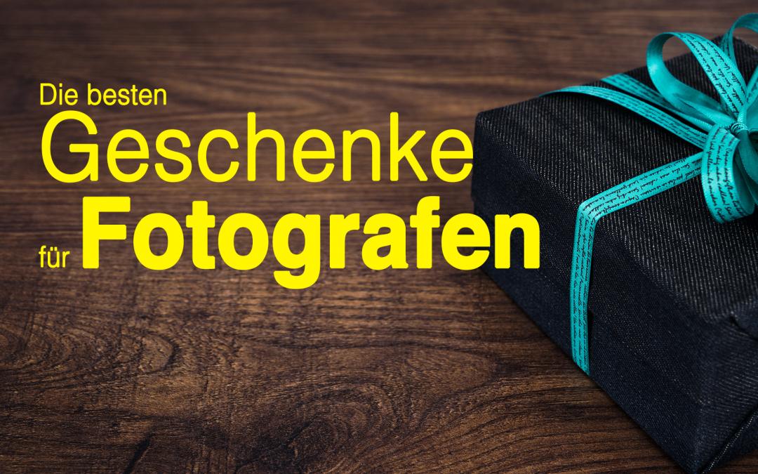 Geschenke für Fotografen 📷, die besten Geschenkideen