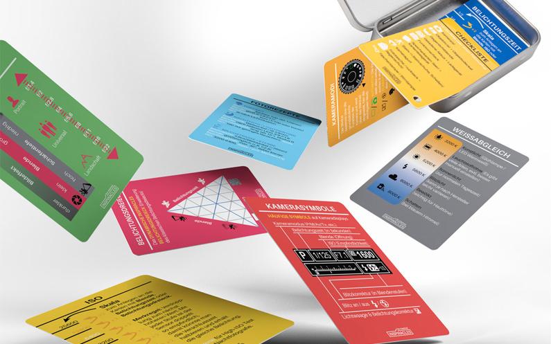 Die Inspiracles Spickzettel – Fotoanhänger im Schekkarten-Format