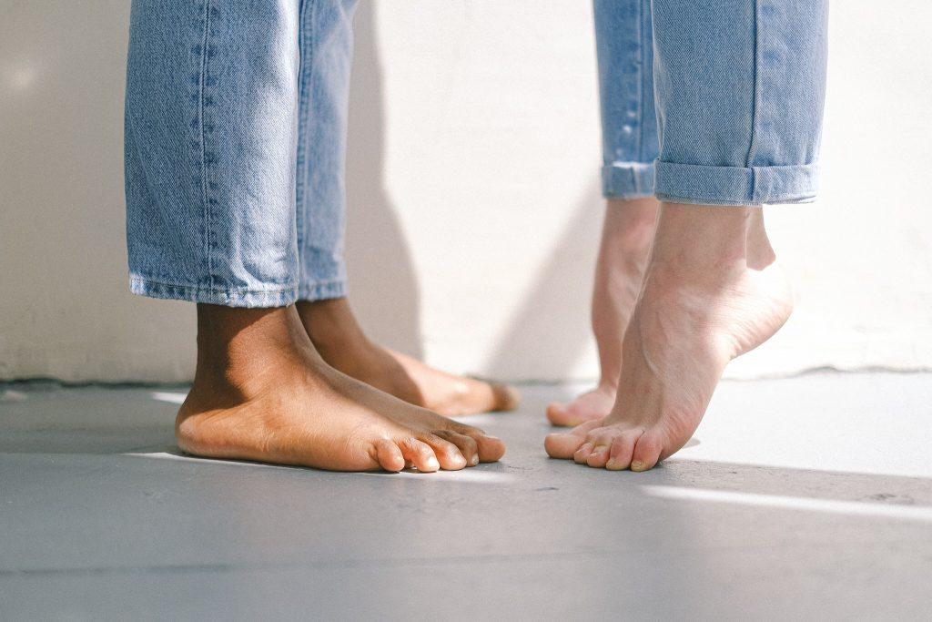 """Ein Beispielbild zur Challenge """"My Feet"""""""