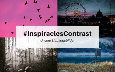 "Unsere Lieblingsbilder der Dezember-Challenge ""Contrast"" – #InspiraclesContrast"