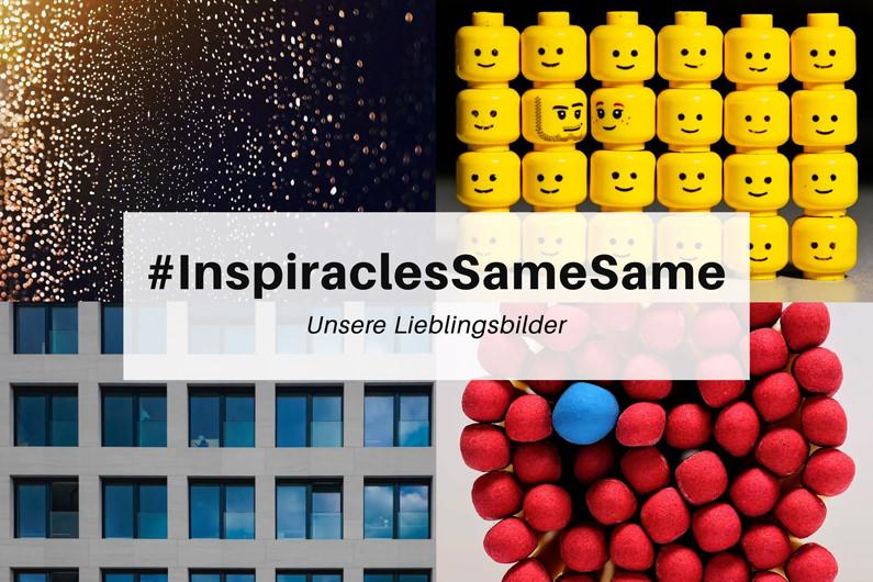 "Unsere Lieblingsbilder der Januar-Challenge ""SameSame"" – #InspiraclesSameSame"