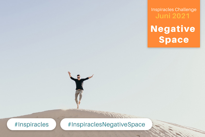 Inspiracles Challenge – Juni 2021 – Negative Space
