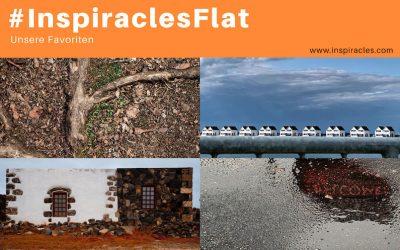"Unsere Lieblingsbilder der Mai-Challenge ""Flat"" – #InspiraclesFlat"