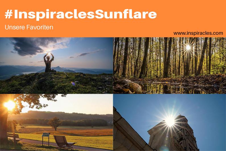 """Unsere Lieblingsbilder der September-Challenge """"Sunflare"""" – #InspiraclesSunflare"""